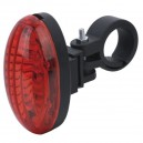Bicycle Tail Light 5 LED avec fixation vélo