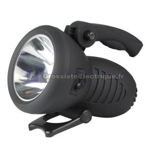 Lampe de poche rechargeable Gun LED 1W