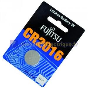 Encadré 20 U. Batterie 3 V CR2016 Fujitsu LITHIO