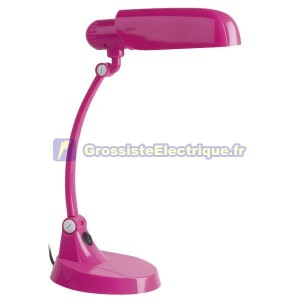 Lampe de bureau Flexo Charly Rosa