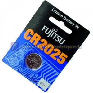 Encadré 20 U. Batterie 3 V CR2025 Fujitsu LITHIO