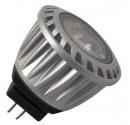 Encadré 10 ampoules DEL MR11 3W 100 Lm 24 ° chaud