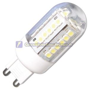 Ampoule LED G9 2W 200lm 6000K à froid