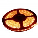Rouler 5 mètres LED bande 7,2 W / m Rouge