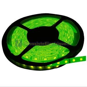 Rouleau de 5 mètres LED bande de 7,2 W / m Vert
