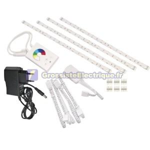 RGB LED Strip Kit flexible 4x30 cm
