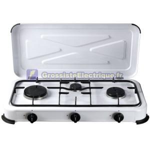 Cuisinière à gaz 3 brûleurs