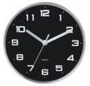 Ø25 Noir horloge de la cuisine