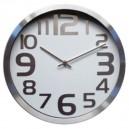 Ø30 Blanc horloge de la cuisine
