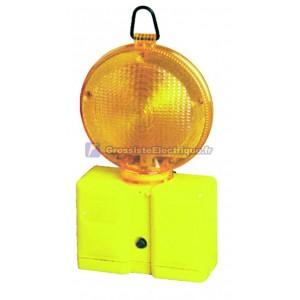 Lampe de poche à DEL de signalisation des œuvres de 100.000 heures