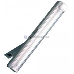 Portable éclairage de secours rechargeable avec poignée et support