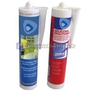 Multipurpose Transparent Silicone 310 ml.