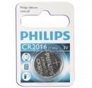 Boîte de 10 ampoules de 1 pc. CR2016 3V Lithium Pile Philips