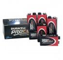 Box 10 unités Duracell Procell 9V Piles alcalines