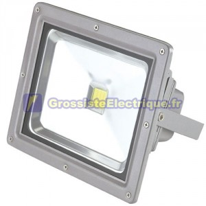 Aluminium Projecteur LED 50W haute luminosité 3000K
