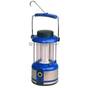 Faible puissance lanterne de camping rechargeable avec chargeur de voiture et de la maison.