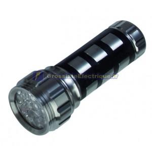 Lampe de poche en aluminium 17 LED