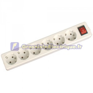Plusieurs de base 6 coups (6T) avec interrupteur et sans fil série méga