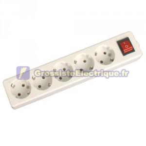 Plusieurs de base 5 tirs (5T) avec interrupteur et sans fil série méga