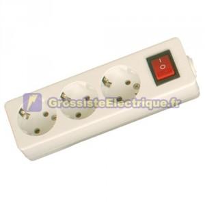 Plusieurs Base 3 coups (3T) avec interrupteur et sans fil série méga