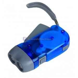 2 Pression LED Flashlight autorecargable
