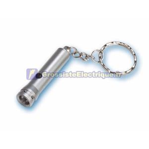 Mini 1 LED lampe de poche porte-clés poche.