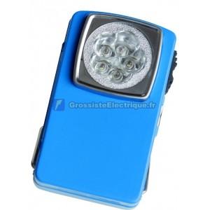 Poche lampe de poche en métal de type 5 leds.
