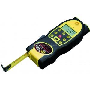 Mètre de distance à ultrasons avec pointeur laser 18 mètres.