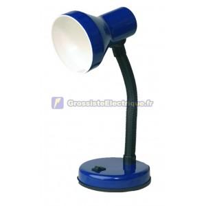 Lampe de bureau flexo en gris clair à incandescence