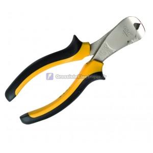 Fin Pince coupante, chrome vanadium, poignée de sécurité ergonomique. 160mm.