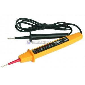 Testeurs de tension. TESTEUR Vérifier le circuit. indique la tension AC / DC en 6, 12, 24,50,110,220 et 380V.