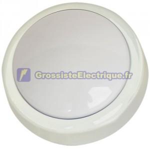 Pushlight ronde. idéal pour les chambres, garages, escaliers, caravanes, campings, etc. AA 4R6. 142x50mm.