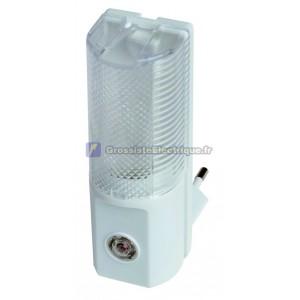 Night Light avec cellule photoélectrique qui s'allume et s'éteint automatiquement en fonction de la lumière ambiante. 7W, 25
