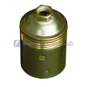 Douille E27 250V métal lisse