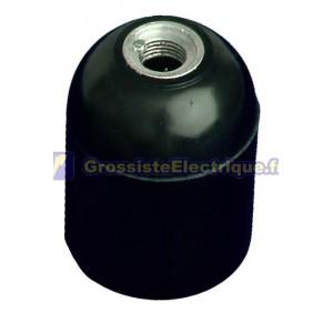 Noir E27, 250V 4A bakélite lisse
