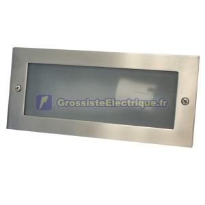 Appliquer la lumière en tôle d'aluminium. E27, couleur noire.