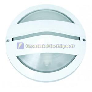 Appliquer la lumière E27 aluminium, couleur nickel satiné.