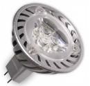 Encadré 10 3,6 W pour lampes à LED (3x1W) MR16 G5, Mars 38 º 2700k chaud